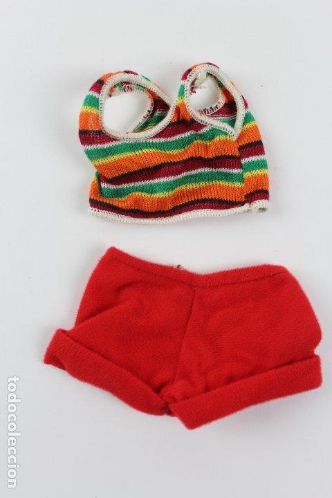 CONJUNTO NANCY MINI SHORTS Nº35. AÑOS 70. (Juguetes - Vestidos y Accesorios Muñeca Española Moderna)