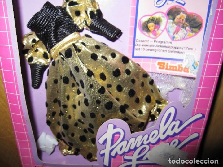 Vestidos Muñecas Españolas: Conjunto de vestido, medias y zapatos originales Pamela Love. Simba. Años 90 - Foto 5 - 181485581