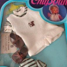 Vestidos Bonecas Espanholas: CHUPETIN DE VICMA. CONJUNTO. NUEVO EN CAJA. Lote 181837098