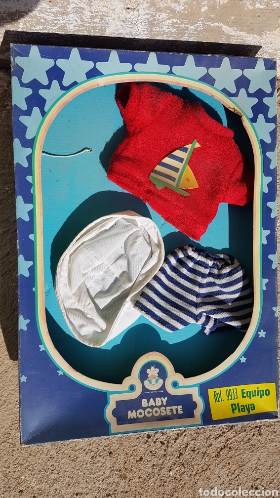 BABY MOCOSETE EQUIPO PLAYA REF 9933 (Juguetes - Vestidos y Accesorios Muñeca Española Moderna)