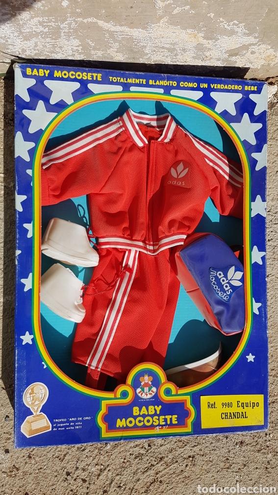 BABY MOCOSETE EQUIPO CHÁNDAL REF 9980 (Juguetes - Vestidos y Accesorios Muñeca Española Moderna)