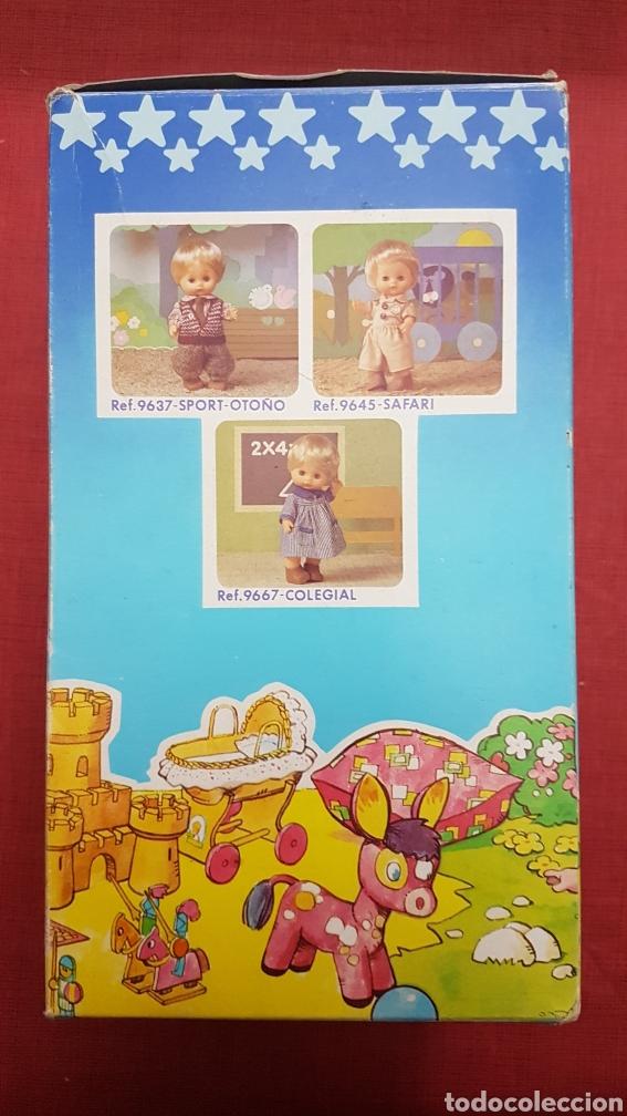 Vestidos Muñecas Españolas: Caja con cuna de baby mocosin ref 9647 Toyse - Foto 2 - 184097485