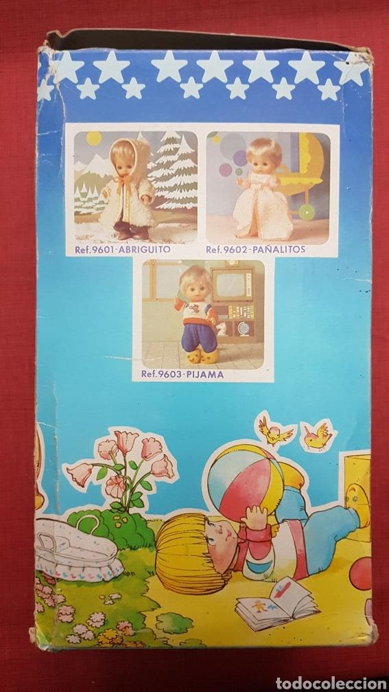 Vestidos Muñecas Españolas: Caja con cuna de baby mocosin ref 9647 Toyse - Foto 4 - 184097485