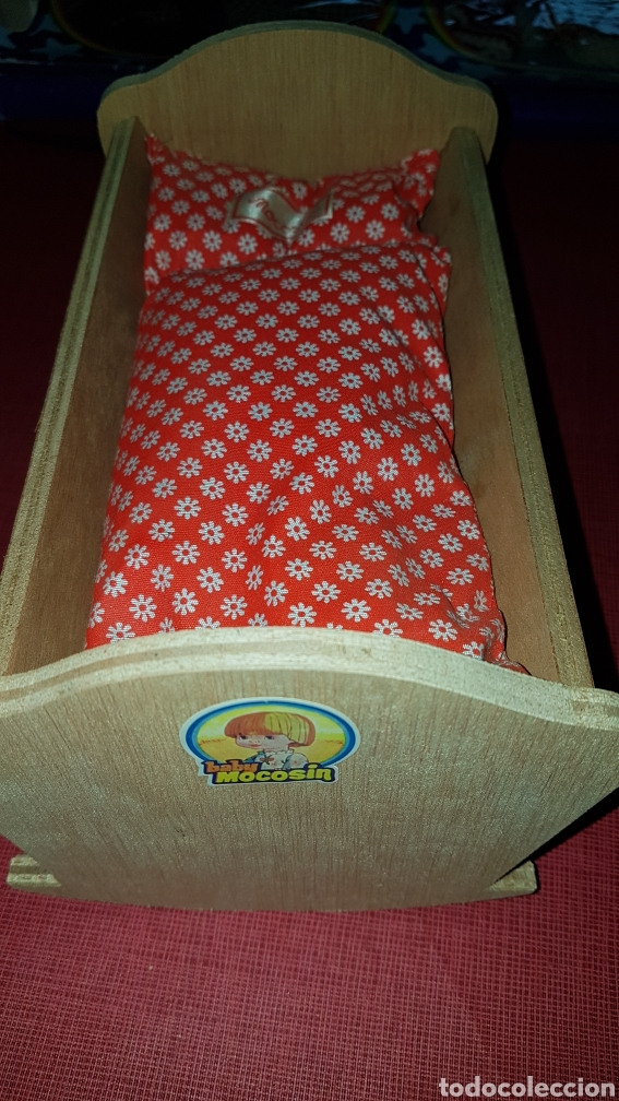Vestidos Muñecas Españolas: Caja con cuna de baby mocosin ref 9647 Toyse - Foto 7 - 184097485