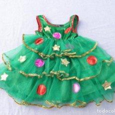 Vestiti Bambole Spagnole: VESTIDO ÁRBOL DE NAVIDAD, PARA MUÑECA NIÑA O REBORN. Lote 186234267