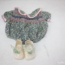 Vestidos Muñecas Españolas: CONJUNTO DE ROPA BABY MOCOSETE. TOYSE ORIGINAL AÑOS 70. Lote 189157652