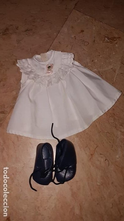 ROPITA Y ZAPATOS DEL MUÑECO CHIQUITÍN DE FAMOSA (Juguetes - Vestidos y Accesorios Muñeca Española Moderna)