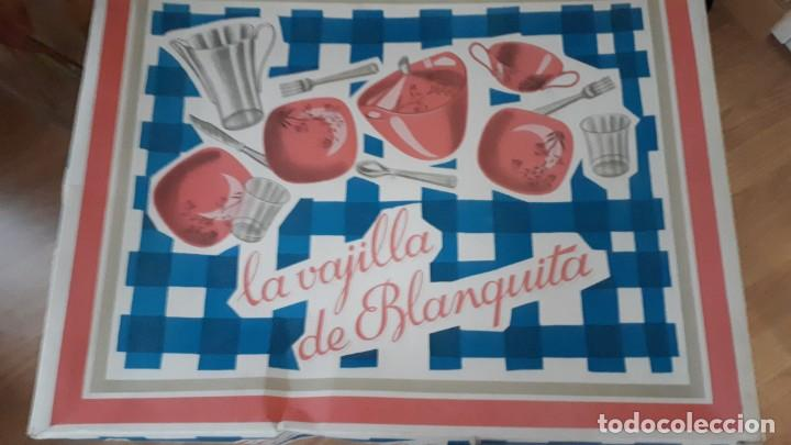 Vestidos Muñecas Españolas: LA VAJILLA DE BLANQUITA ANTIGUO JUGUETE - Foto 2 - 192104138