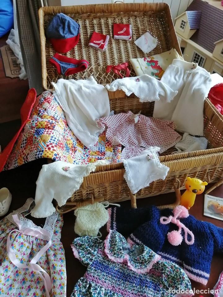 Vestidos Muñecas Españolas: Maleta baby mocosete con mas de 65 piezas - Foto 2 - 192717610