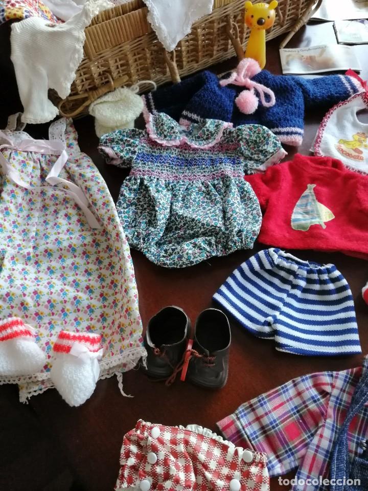 Vestidos Muñecas Españolas: Maleta baby mocosete con mas de 65 piezas - Foto 4 - 192717610