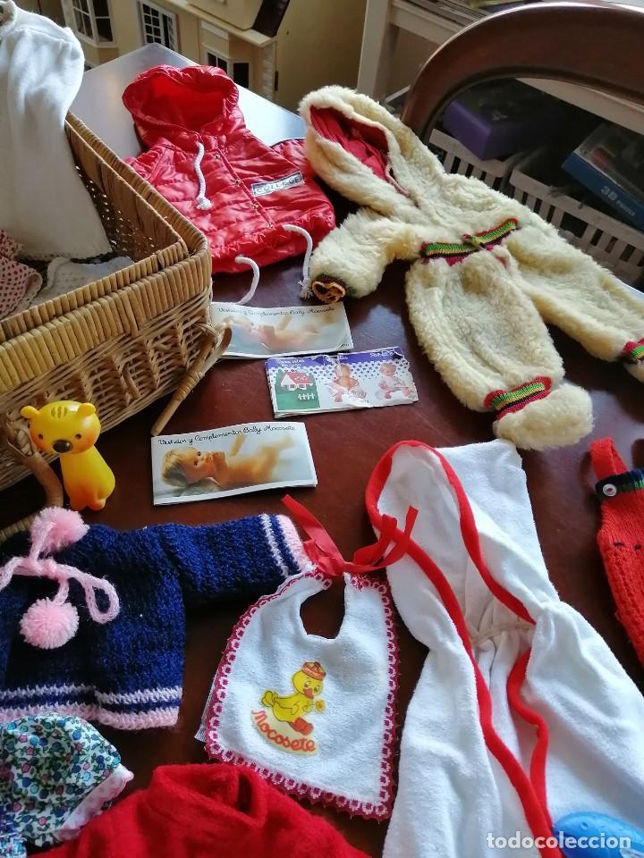 Vestidos Muñecas Españolas: Maleta baby mocosete con mas de 65 piezas - Foto 5 - 192717610