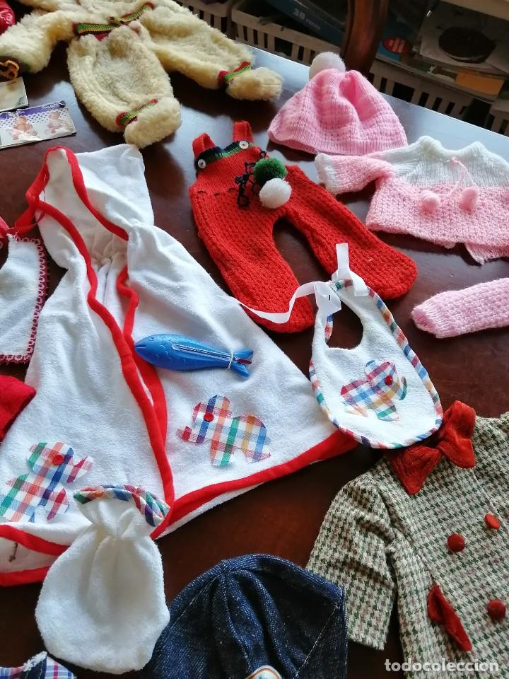 Vestidos Muñecas Españolas: Maleta baby mocosete con mas de 65 piezas - Foto 6 - 192717610
