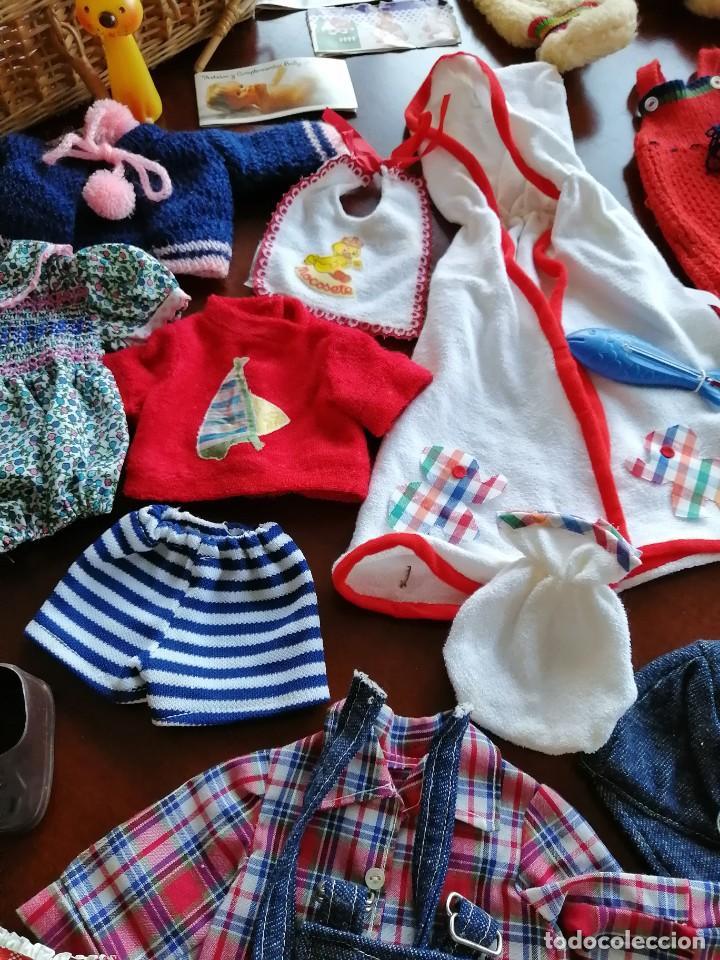 Vestidos Muñecas Españolas: Maleta baby mocosete con mas de 65 piezas - Foto 7 - 192717610