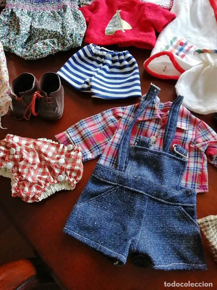 Vestidos Muñecas Españolas: Maleta baby mocosete con mas de 65 piezas - Foto 8 - 192717610
