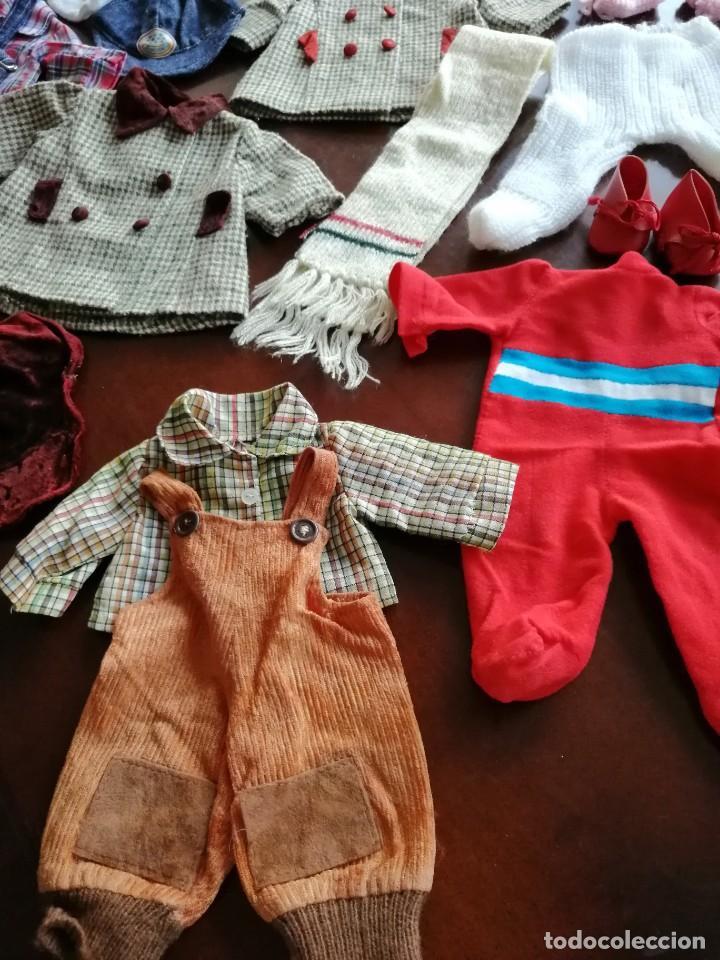 Vestidos Muñecas Españolas: Maleta baby mocosete con mas de 65 piezas - Foto 10 - 192717610