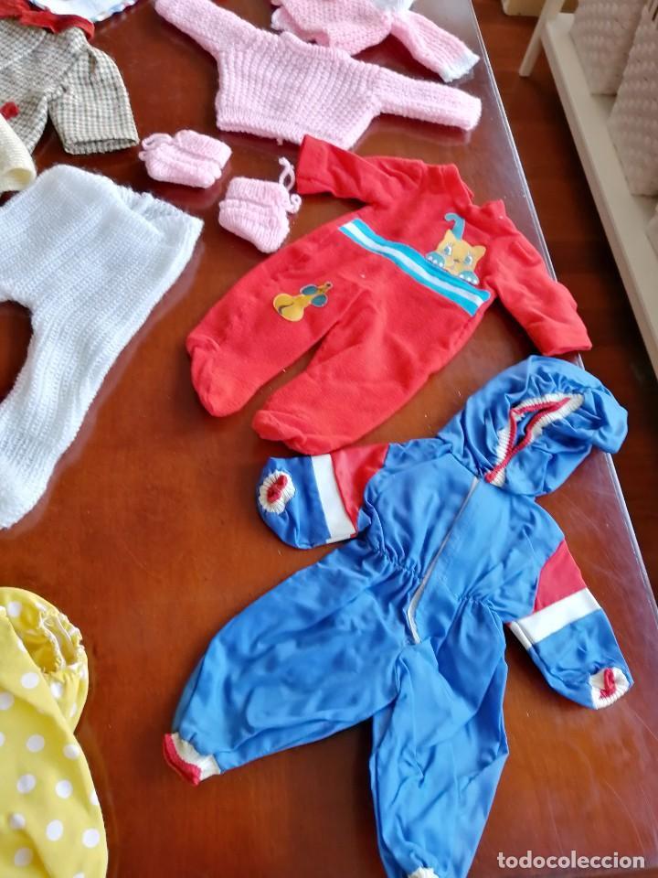 Vestidos Muñecas Españolas: Maleta baby mocosete con mas de 65 piezas - Foto 12 - 192717610