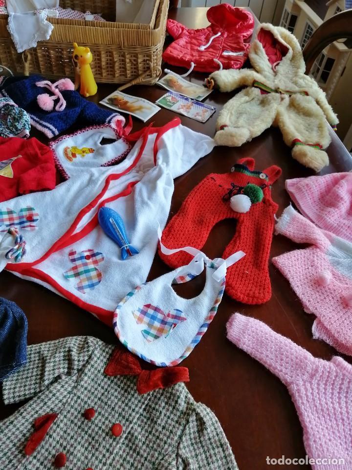 Vestidos Muñecas Españolas: Maleta baby mocosete con mas de 65 piezas - Foto 14 - 192717610