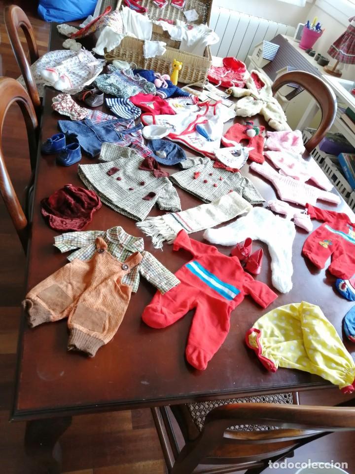 Vestidos Muñecas Españolas: Maleta baby mocosete con mas de 65 piezas - Foto 15 - 192717610