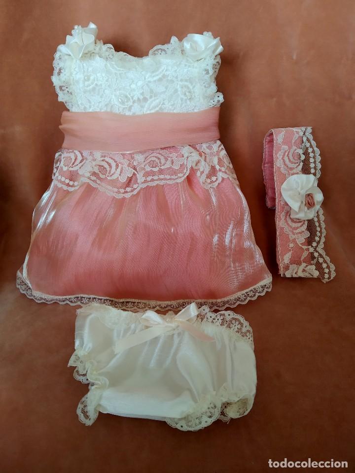 Vestidos Muñecas Españolas: ROPA VESTIDO CEREMONIA PARA MUÑECA BEBE REBORN, RECIEN NACIDA - Foto 5 - 194205661