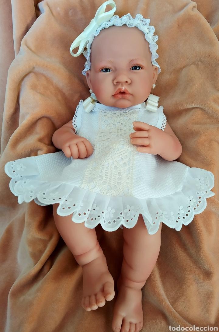 Vestidos Muñecas Españolas: Vestido para muÑeca bebe reborn, recien nacida - Foto 3 - 194308353
