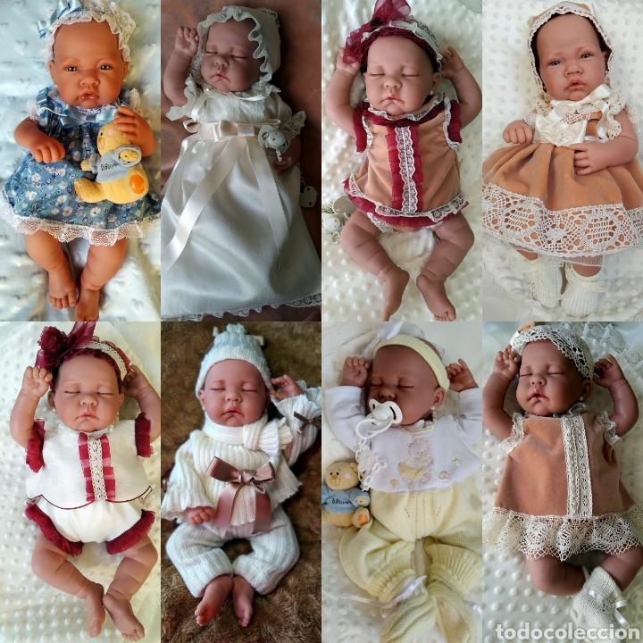 Vestidos Muñecas Españolas: Vestido para muÑeca bebe reborn, recien nacida - Foto 7 - 194308353