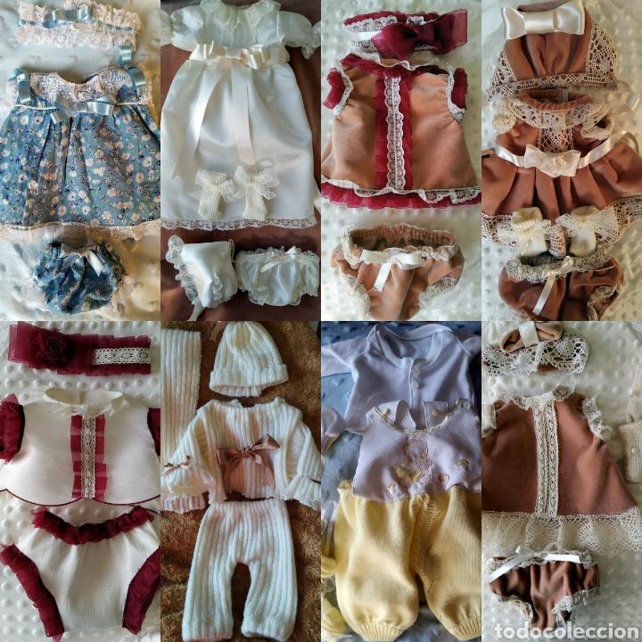 Vestidos Muñecas Españolas: Vestido para muÑeca bebe reborn, recien nacida - Foto 8 - 194308353
