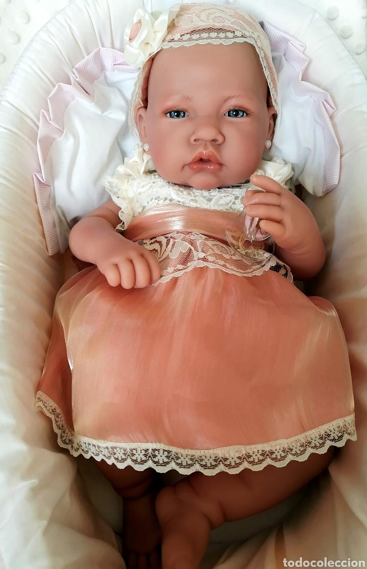 Vestidos Muñecas Españolas: Vestido para muÑeca bebe reborn, recien nacida - Foto 9 - 194308353