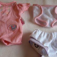Vestidos Muñecas Españolas: LOTE DE VESTIDOS PARA MUÑECAS BEBÉ BABY BORN. Lote 197452191