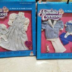 Vestidos Bonecas Espanholas: FAMILIA CORAZON CONJUNTOS ENCAJE Y MARITIM. Lote 202864618