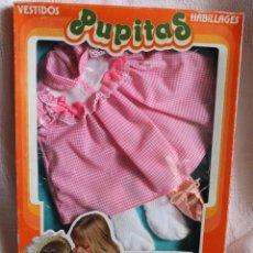 Vestidos Bonecas Espanholas: ROPA EN BLISTER PARA MUÑECA PUPITAS DE TOYSE. Lote 203628403