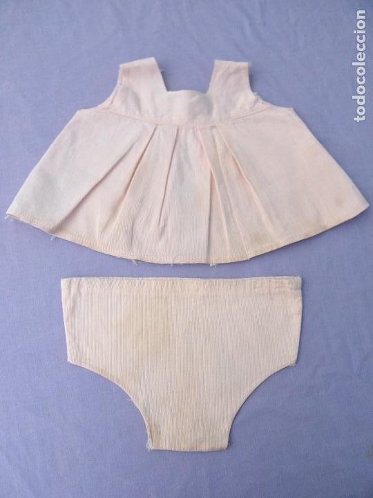 CONJUNTO ROPA ANTIGUA ROSA DE MUÑECAS NOVO GAMA (Juguetes - Vestidos y Accesorios Muñeca Española Moderna)