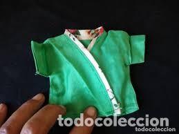 ANTIGUA BATA ORIENTAL PARA MUÑECAS DE 24/28 CM AÑOS 80 (Juguetes - Vestidos y Accesorios Muñeca Española Moderna)