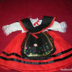 Vestidos Muñecas Españolas: TRAJE DE MUÑECA VESTIDA DE ASTURIANA. Lote 206568583