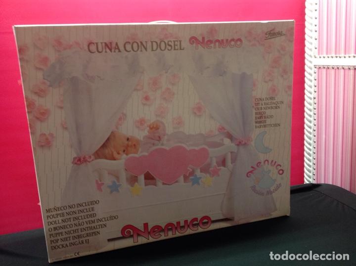 CUNA NENUCO CON DOSEL (Juguetes - Vestidos y Accesorios Muñeca Española Moderna)