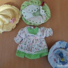 Vestidos Muñecas Españolas: ACCESORIOS TARTA DE FRESA. Lote 209723168