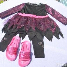 Vestidos Muñecas Españolas: CONJUNTO HALLOWEEN PARA MUÑECA NIÑA O REBORN. Lote 211728823