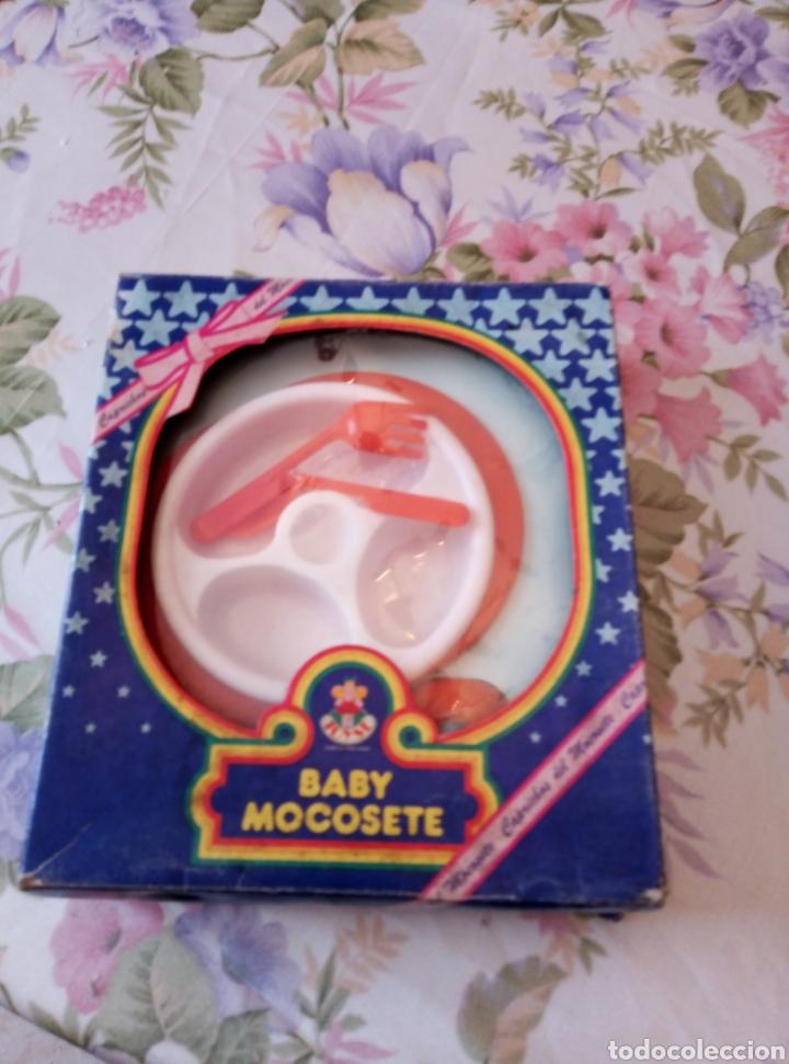 Vestidos Muñecas Españolas: Plato cuchara y tenedor en su caja. Orinal en su caja. Baby mocosete. - Foto 2 - 214462980