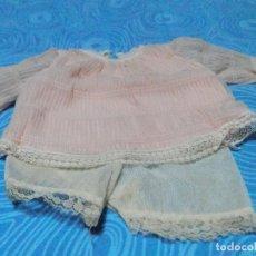 Vestidos Muñecas Españolas: ANTIGUO CONJUNTO PARA MUÑECA, MEDIDAS EN FOTOS. Lote 218140763