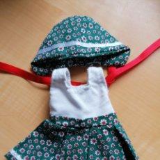 Vestiti Bambole Spagnole: BESTIDO Y GORRO -MUÑECA MARIQUITA PEREZ-. Lote 219380105