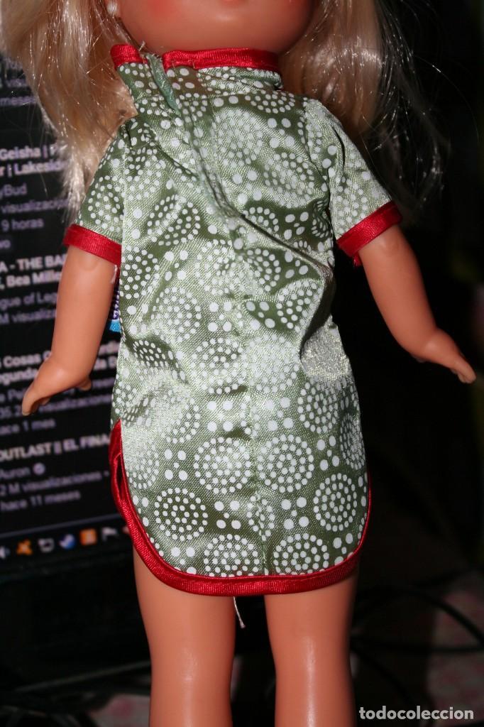 Vestidos Muñecas Españolas: vestido de amanda troupe le vale a lesly muñeca geisha - Foto 2 - 219694063