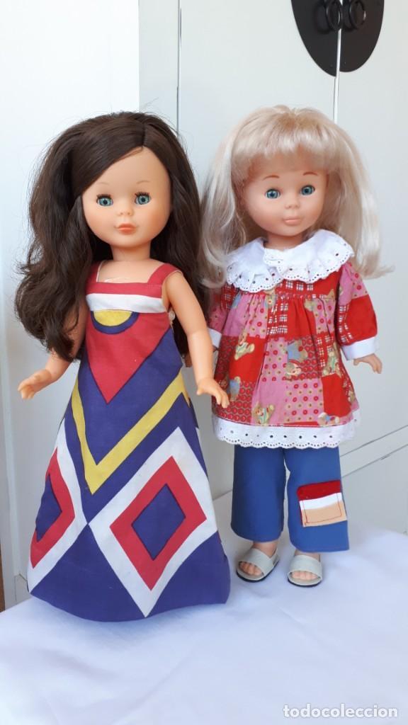 NANCY LOTE DOS ANTIGUOS CONJUNTOS (Juguetes - Vestidos y Accesorios Muñeca Española Moderna)
