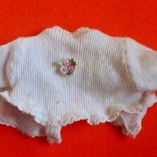 Vestidos Muñecas Españolas: JERSEY PUNTO BABY MOCOSETE ETIQUETA TOYSE. Lote 220366218