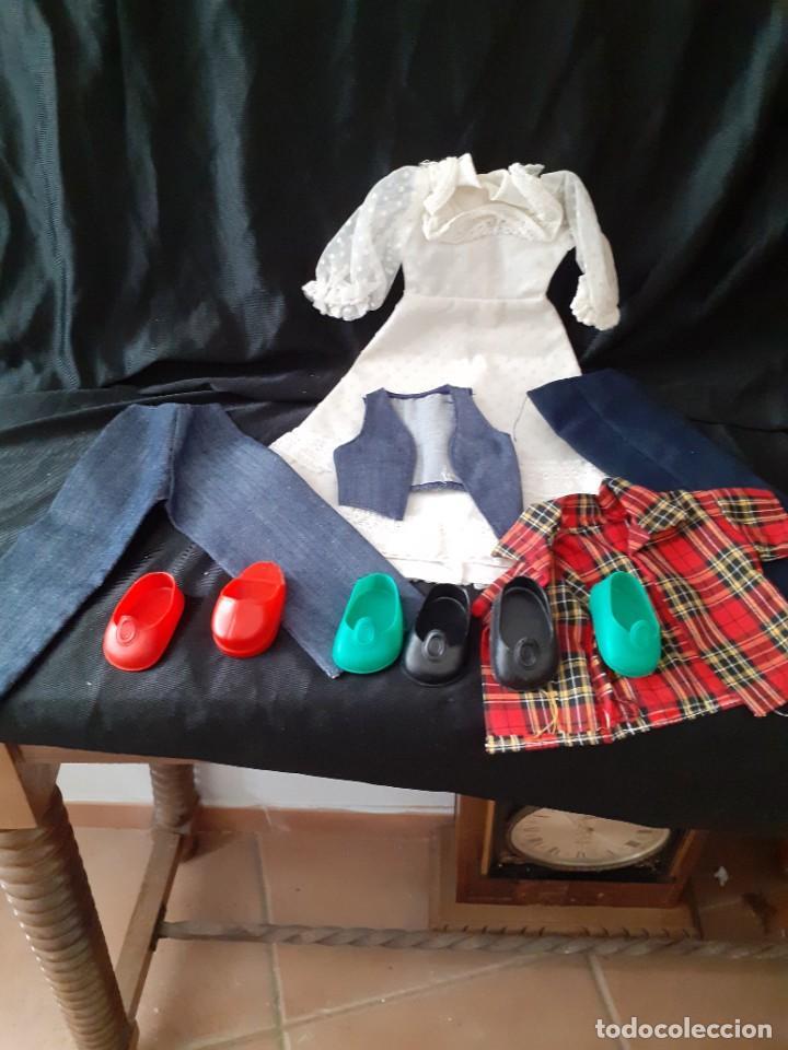 NANCY (Juguetes - Vestidos y Accesorios Muñeca Española Moderna)
