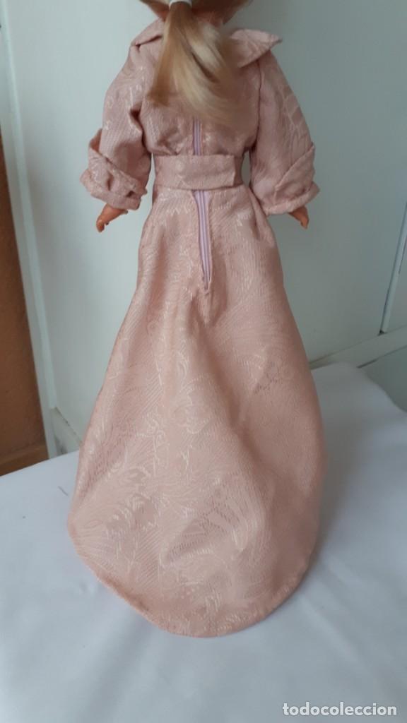 Vestidos Muñecas Españolas: ANTIGUO VESTIDO DE MUÑECA VALIDO PARA NANCY DE FAMOSA - Foto 2 - 222607396