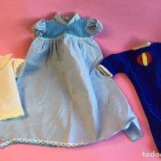 Vestidos Muñecas Españolas: LOTE ROPA MUÑECOS AÑOS 70. Lote 222701836