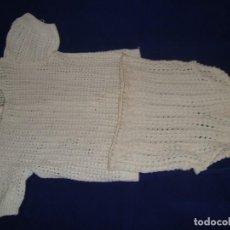 Vestidos Muñecas Españolas: ANTIGUO CONJUNTO DE BRAGUITA Y JERSEY DE PUNTO PARA MUÑECA. Lote 222831087