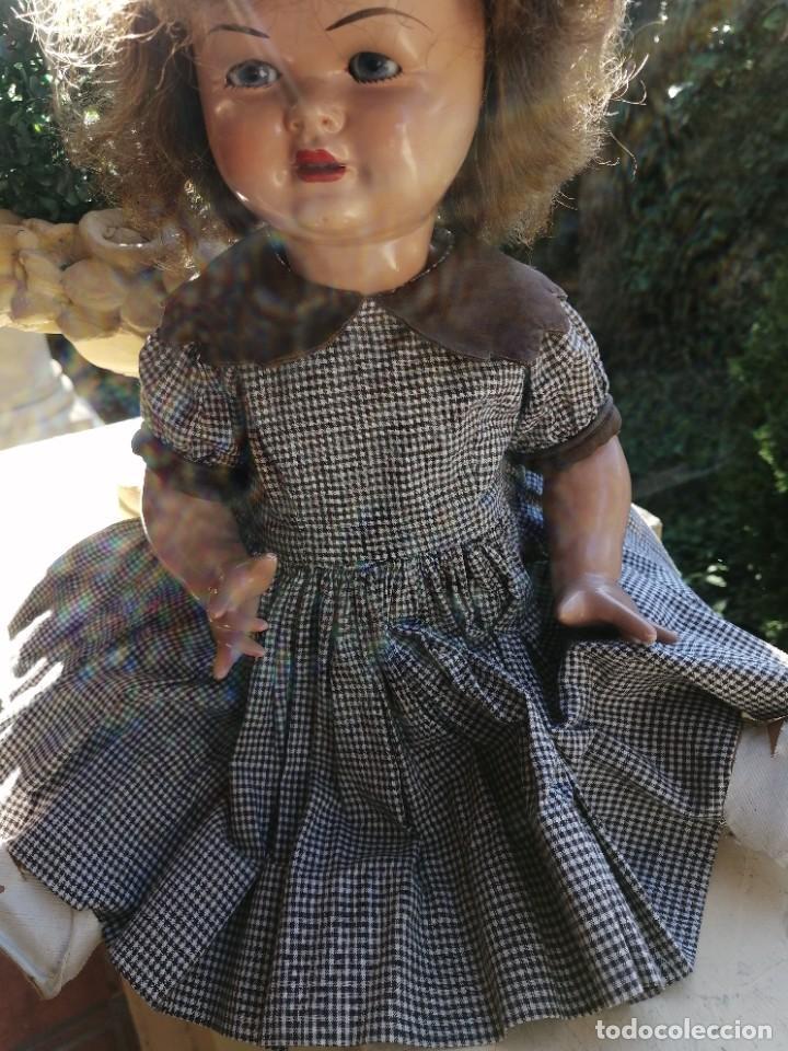 Vestidos Muñecas Españolas: Vestido antiguo para muñeca de 46 a 52cm - Foto 3 - 225738615