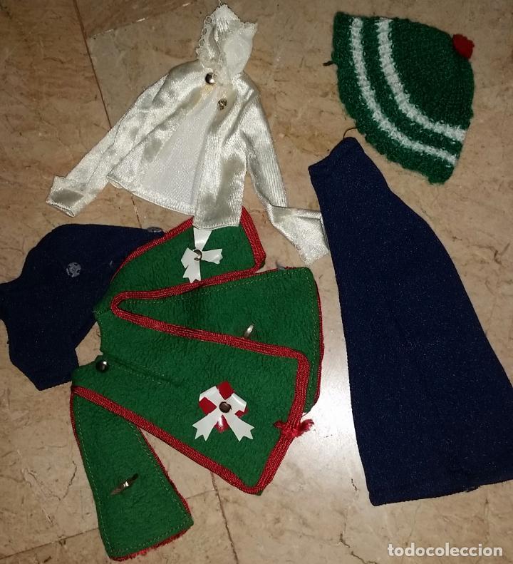 LOTE PRENDAS MUÑECA LISSI GUILLEM Y VICEDO, FANNY (Juguetes - Vestidos y Accesorios Muñeca Española Moderna)