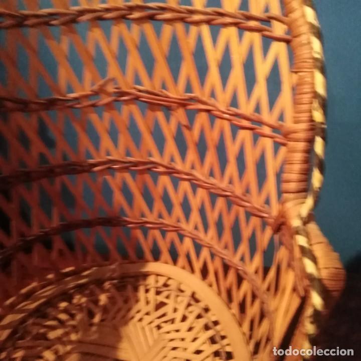 Vestidos Muñecas Españolas: Antiguos sillones de muñecas, siglo xix. - Foto 11 - 228940130