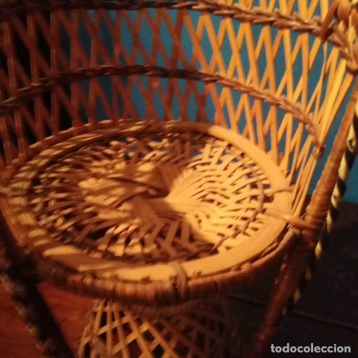 Vestidos Muñecas Españolas: Antiguos sillones de muñecas, siglo xix. - Foto 12 - 228940130